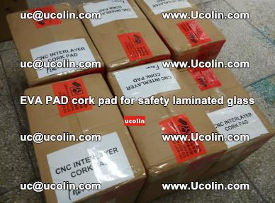 EVA PAD cork pad for safety glazing glass separation (30)