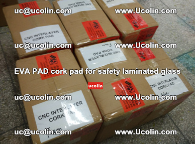 EVA PAD cork pad for safety glazing glass separation (31)