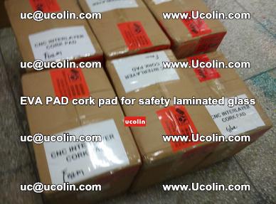 EVA PAD cork pad for safety glazing glass separation (32)