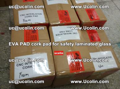 EVA PAD cork pad for safety glazing glass separation (33)