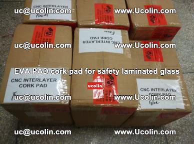 EVA PAD cork pad for safety glazing glass separation (36)