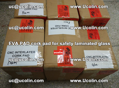 EVA PAD cork pad for safety glazing glass separation (37)