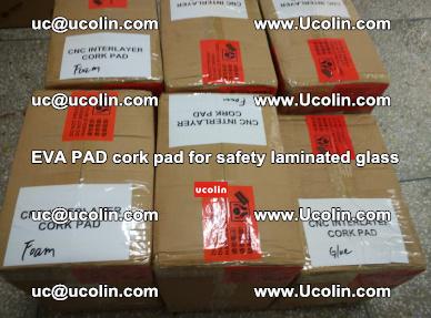 EVA PAD cork pad for safety glazing glass separation (41)
