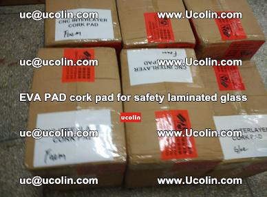 EVA PAD cork pad for safety glazing glass separation (42)