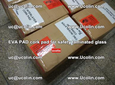 EVA PAD cork pad for safety glazing glass separation (46)