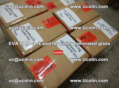 EVA PAD cork pad for safety glazing glass separation (48)