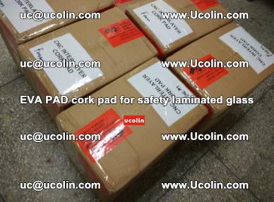 EVA PAD cork pad for safety glazing glass separation (50)
