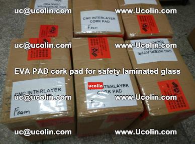 EVA PAD cork pad for safety glazing glass separation (54)