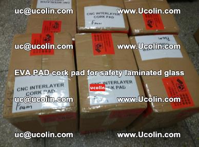 EVA PAD cork pad for safety glazing glass separation (55)