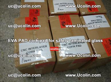 EVA PAD cork pad for safety glazing glass separation (59)