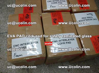 EVA PAD cork pad for safety glazing glass separation (6)