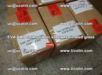 EVA PAD cork pad for safety glazing glass separation (61)