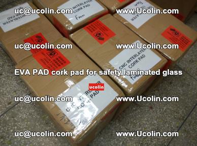 EVA PAD cork pad for safety glazing glass separation (64)