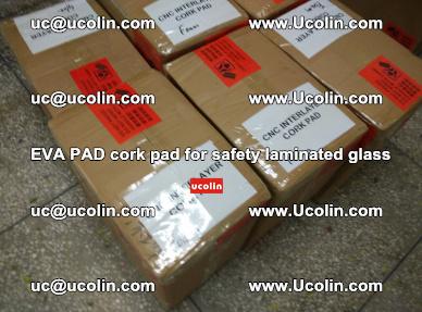 EVA PAD cork pad for safety glazing glass separation (65)