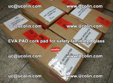 EVA PAD cork pad for safety glazing glass separation (69)