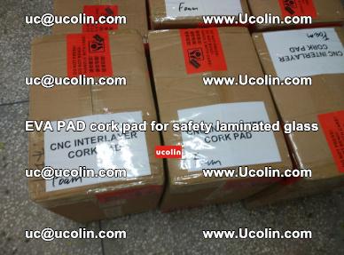 EVA PAD cork pad for safety glazing glass separation (7)
