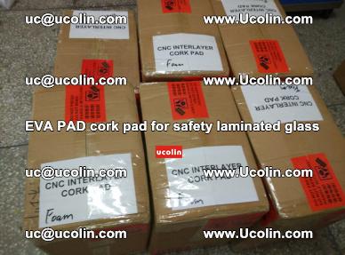 EVA PAD cork pad for safety glazing glass separation (9)