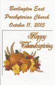2015-10-11 Bulletin