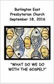 2016-09-18 Bulletin