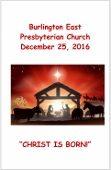 2016-12-25 Bulletin