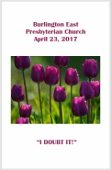 2017-04-23 Bulletin