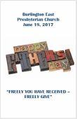 2017-06-18 Bulletin