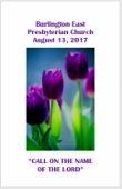 2017-08-13 Bulletin