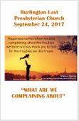 2017-09-24 Bulletin