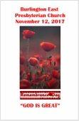 2017-11-12 Bulletin