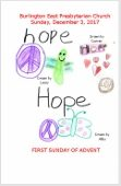 2017-12-03 – Advent 1 HOPE
