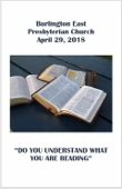 2018-04-29 – Do you understand what you are reading