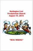 2018-08-19 Bulletin