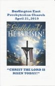 2019-04-21 – Christ the Lord is risen today