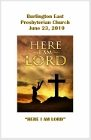 2019-06-23 – Here I am Lord