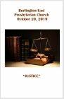 2019-10-20 Bulletin