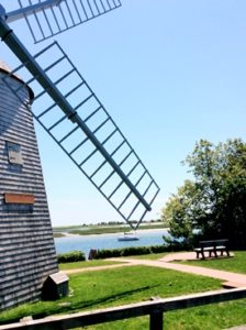 Judah Baker Windmill for Bass River Wedding Ceremonies