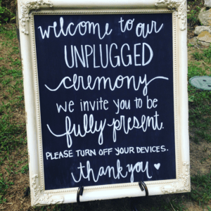 Being Present during Cape Cod Wedding Ceremonies