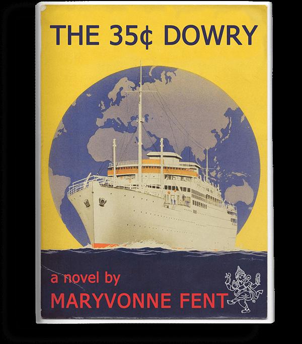 The 35¢ Dowry Maryvonne Fent Paris India Parisian