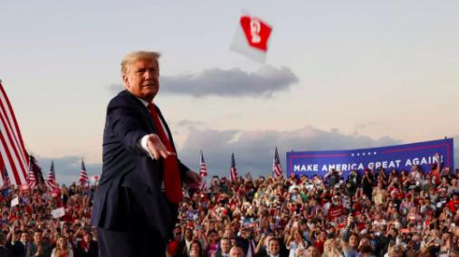 Trump Covid Miami
