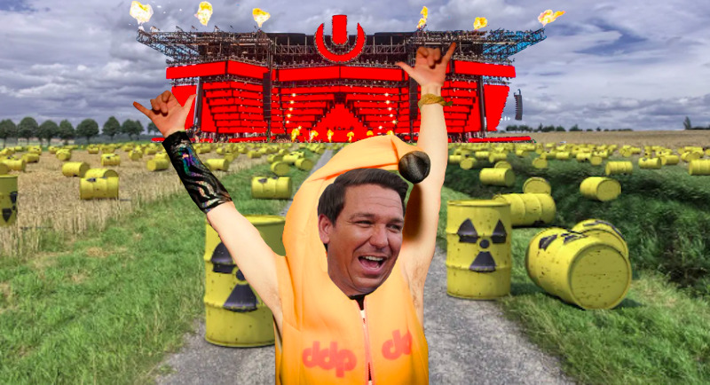 Gov. Ron DeSantis Opens Florida's Nuclear Waste Sites to Partygoers