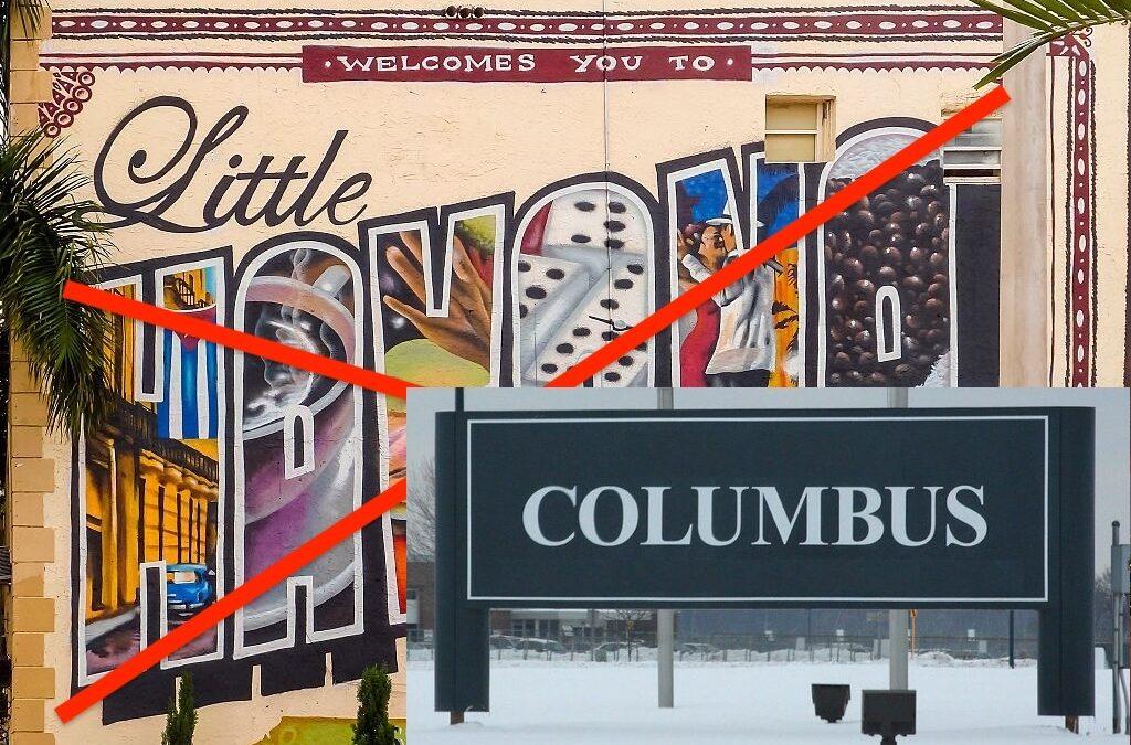 Katie Miller Demolishes Little Havana to Make Way for Little Columbus, Ohio