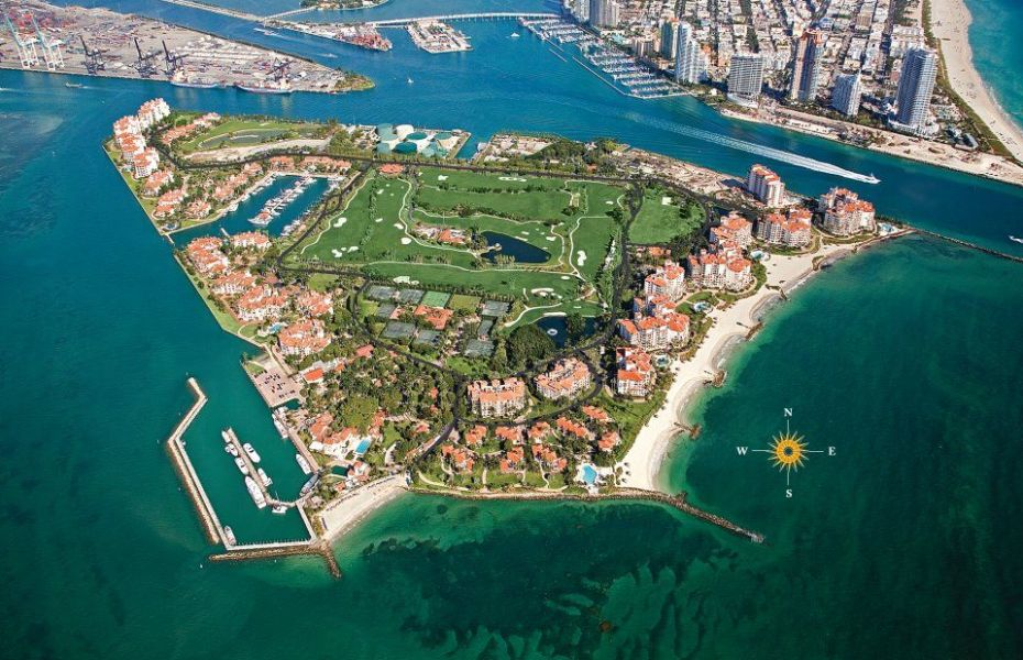 Florida Launches Trickle Down Vaccination Campaign on Fisher Island