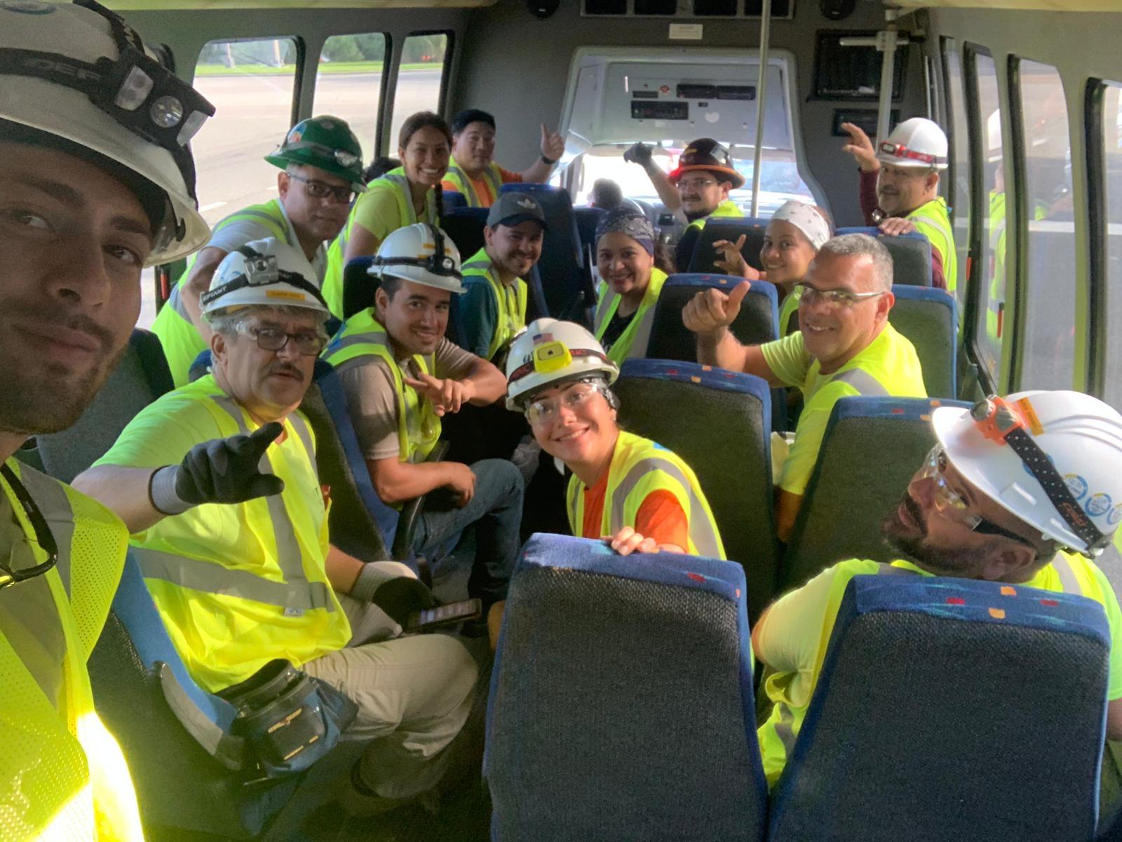 CEP Crew On The Bus