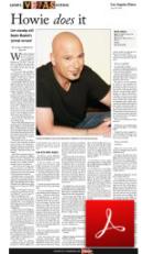 howie mandel interview article aleza freeman