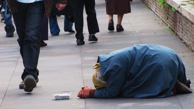 Facing Beggar's Shame