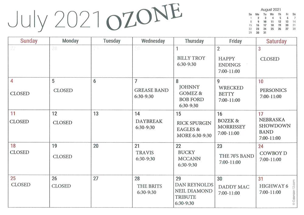 JULY-OZONE