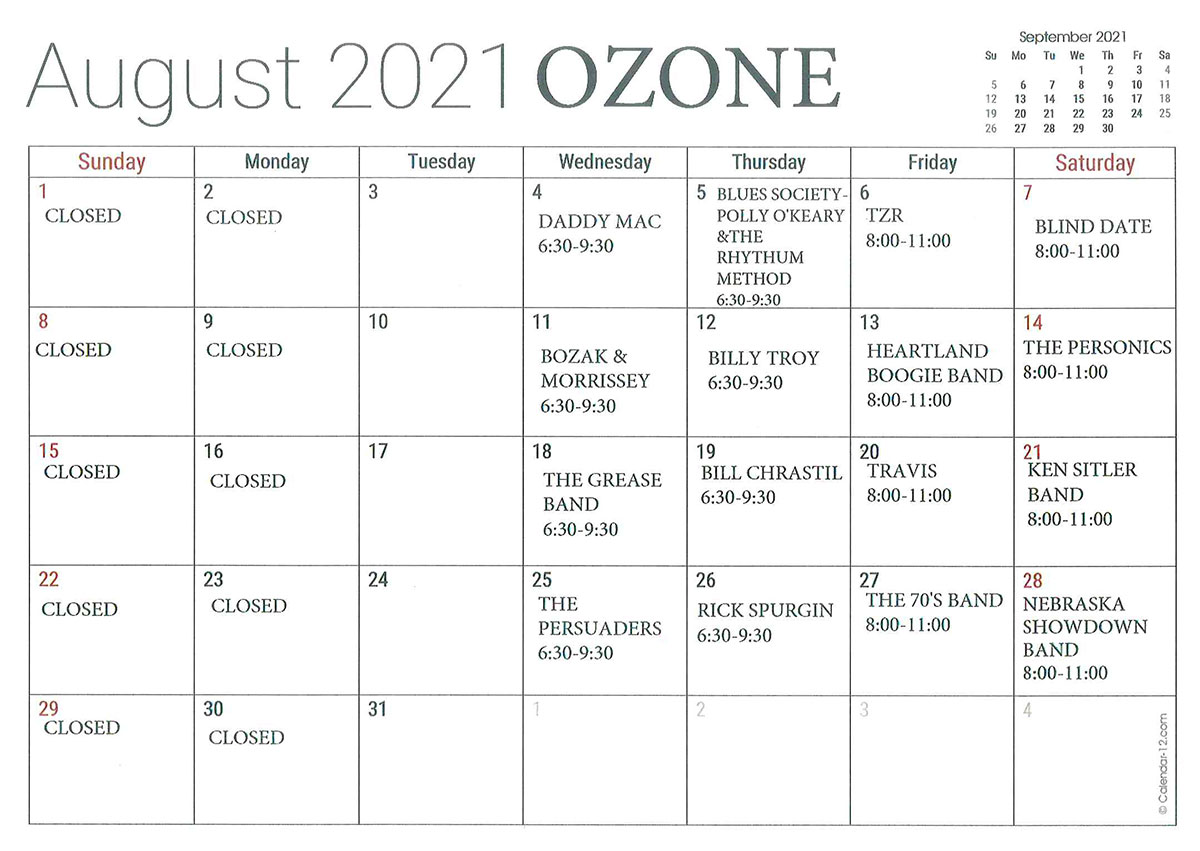 AUGUST-OZONE