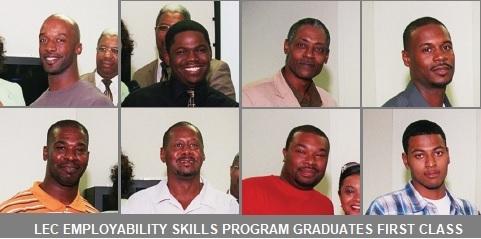 LEC EMPLOYABILITY SKILLS PROGRAM GRADUATES FIRST CLASS