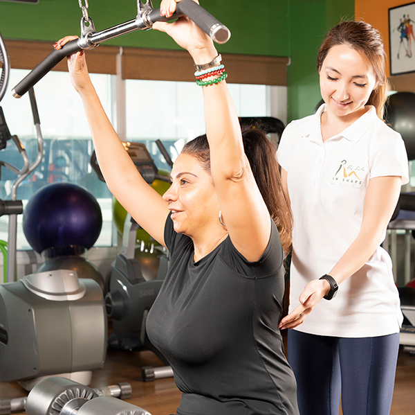 1 on 1 personal training for women