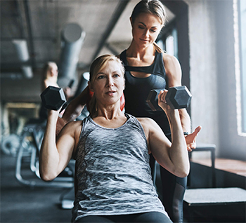 Fit over 50 women personal training